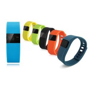 Bracciale Smartwatch Bluetooth contapassi calorie monitoraggio del sonno per notifiche Smartphone