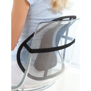 Schienale ergonomico per sedie e sedile auto relax