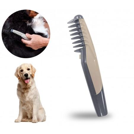 045763 Pettine elettrico taglia e sciogli nodi per cani e gatti