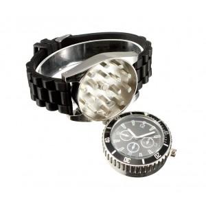 Orologio da polso GRINDER 4483 con trita tabacco cinturino in silicone