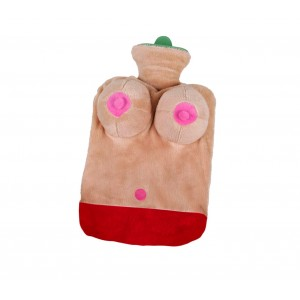 Borsa acqua calda 748997 sexy in morbido peluche seno in 3D