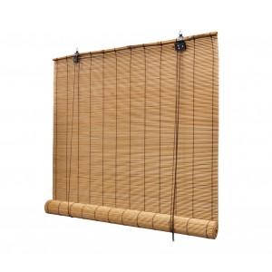 202456 Tenda in bamboo con carrucola resistente alle intemperie  90 x 180 cm