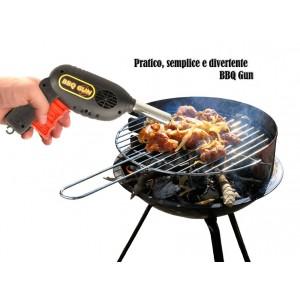 Pistola ad aria a pressione per barbecue e cammini ravviva fiamma manuale linea BBQ