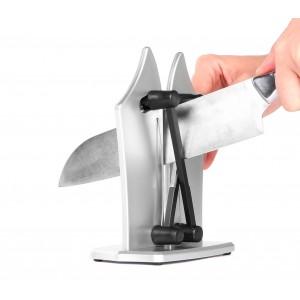 182641 Affila coltelli e lame universale automatico 3 in 1 con sistema a molla