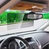 Aletta visiera parasole auto universale 2 in 1 per visibilità diurna e notturna
