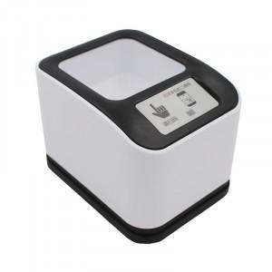 Lettore codici a barre e QR Code da tavolo MP-2200H barcode laser USB bianco