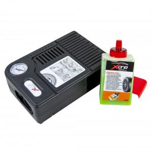 XONE No problem EF029 Kit Ripara Gomme di emergenza pompa e liquido riparatore