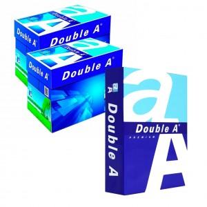 Pack 10 Risme 015430 carta formato A5 500 fogli da 80 g DOUBLE A Premium