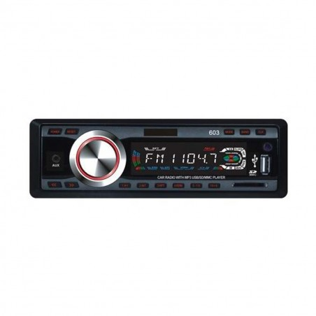 Stereo auto autoradio mp3 slot sd porta usb mp3-603 12v