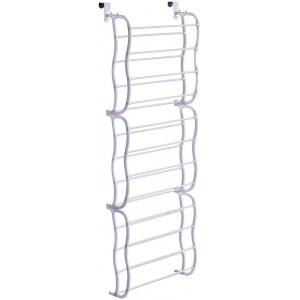 Rack organizer 36 paia di scarpe modulare per porta e parete facile montaggio