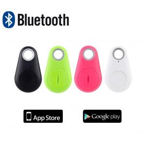 Localizzatore gps per smartphone antilost telecomando pulsante bluetooth multifunzione compatibile apple android