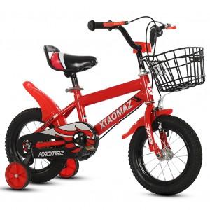 Bicicletta Magic da bambini taglia 12 con cestino età 3 -5 anni con rotelle