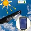Lampione a ricarica solare 803000 con sensore di movimento 48 Led 30W
