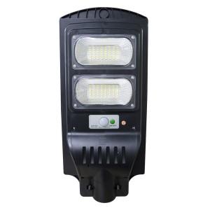 Lampione a ricarica solare 806001 telecomando e sensore movimento 60W 96 Led