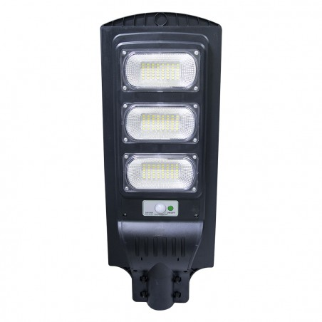 Lampione a ricarica solare 809002 telecomando e sensore movimento 90W 144 Led
