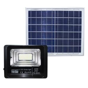 Faro led con ricarica solare 40W impermeabile IP67 FB-8840 6500K luce fredda