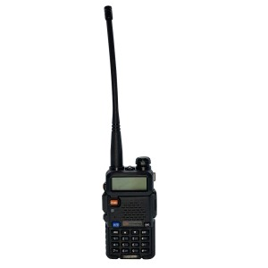 Ricetrasmittente radio dual band FMUV-5R 497135 portatile two way VHF/UHF