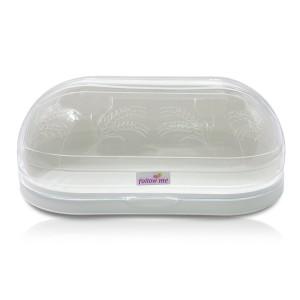 Portapane in Plastica PAMAX 722179 Bianco Salvafreschezza Chiusura Trasparente