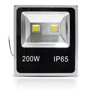 Faro LED 200W Luce Calda per Esterno Impermeabile IP65 con Staffa di Supporto