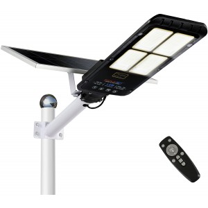 Lampione led a pannello solare 293004 sensore di movimento 300W protezione IP67
