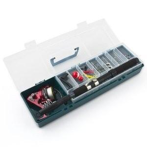 Kit da pesca completo valigetta + canna + accessori