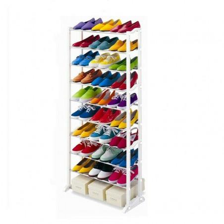 Scarpiera shoes rack amazing 30 paia nuovo salvaspazio organizer ripostiglio