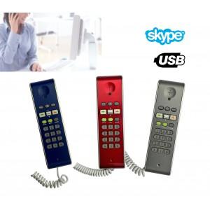 Telefono usb voip compatibile con Skype per chiamare gratuitamente i tuoi amici di skype